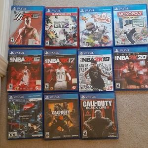 11 Games for 50 dollars
